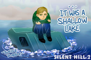 Silent Hill 2 In Water by ravefirell
