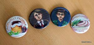 Hannibal Buttons