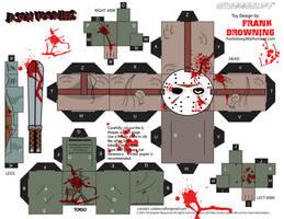 Jason Voorhees Cubee by frankdawg48