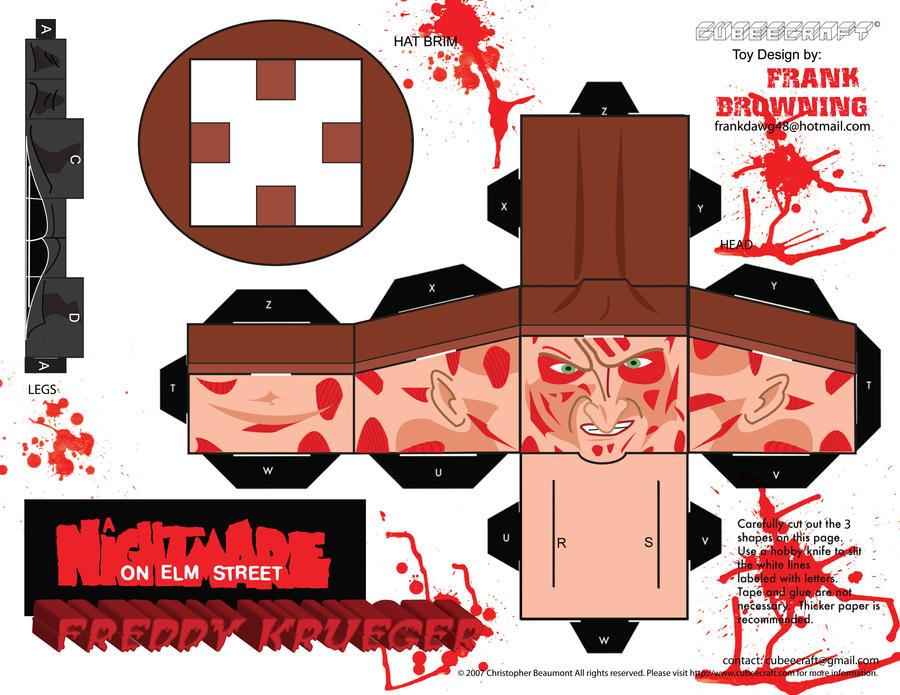 Freddy Krueger Cubee Pg1 by frankdawg48