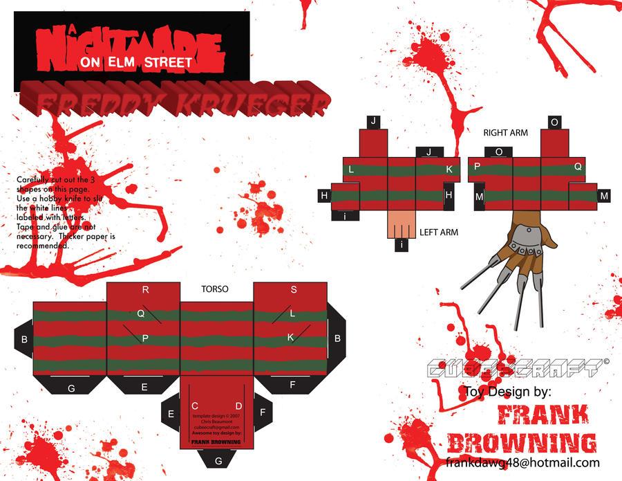 Freddy Krueger Cubee Pg2 by frankdawg48