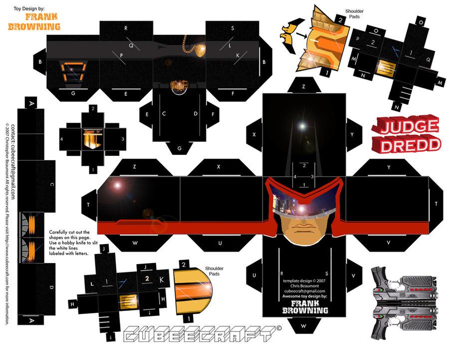 Judge Dredd by frankdawg48