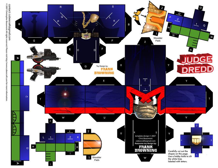 Judge Dredd Comic by frankdawg48