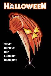 8 Bit Halloween Poster (1978)