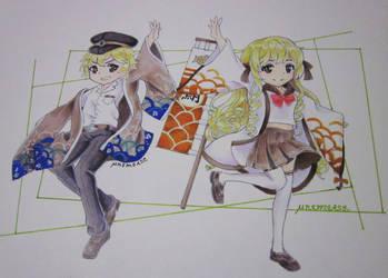 Dorayaki and Taiyaki by Mnemease