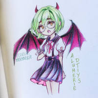 Demon School Girl