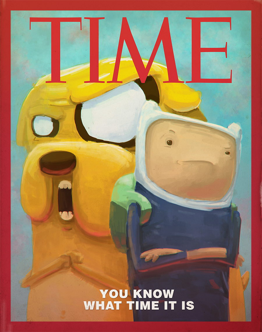 Adventure Time Magazine by SzGfx