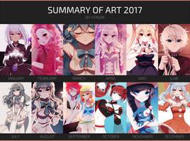 2017 Summary of Art by hynorin