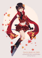 C: Rising Hero [+Speedpaint] by hynorin