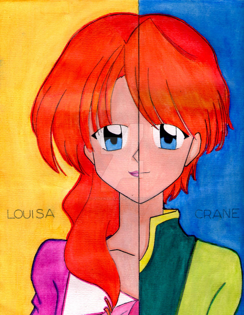 LOUISA-CRANE Colored by junewralley