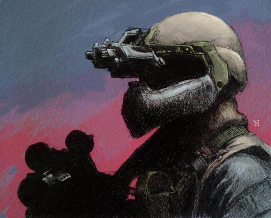 Soldier2 by NishFunzy