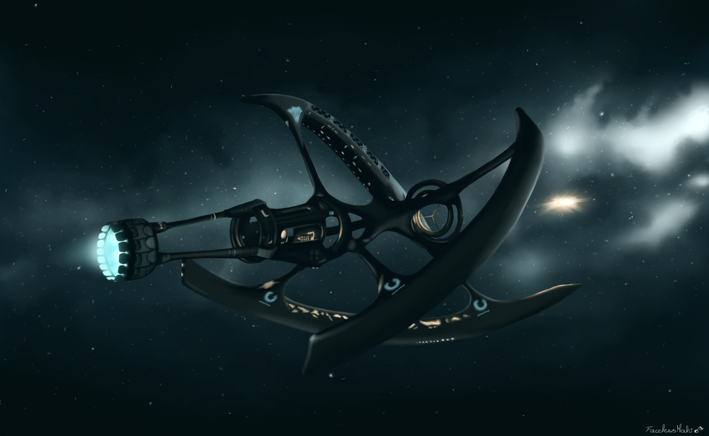 Avalon spaceship passengers by facelessmochi on deviantart for Passengers spaceship