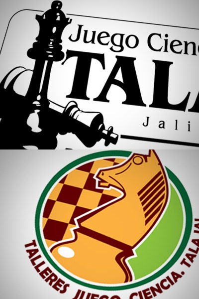 Logotipos en proceso para Talleres de Ajedrez by Guscy