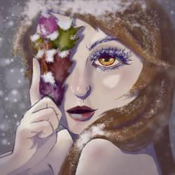 Autumn Snow by ThornandPetal
