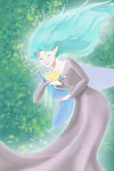 Fairy Mom by ThornandPetal