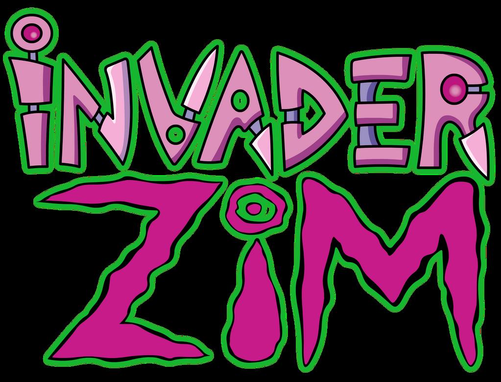 Invader Zim Logo By Jax89man