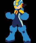 Megaman Vector by Jax89man