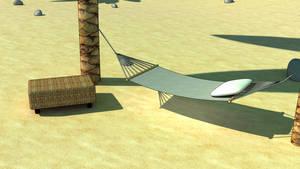toon style beach by XeryTheMew
