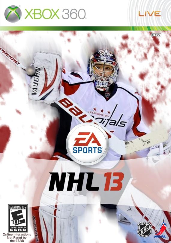 Michal Neuvirth NHL 13 by PapercraftNinjaMan