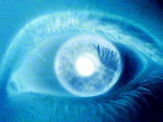 My eye by Melvisa