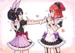 Valentine Koi dance Maki Nico