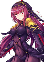 Scathach by Ch1-Ark