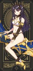 Ishtar card by Ch1-Ark