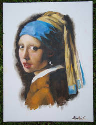Girl With A Pearl Earring Copy