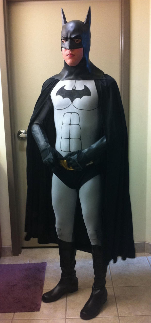 My Homemade Batman Costume by Cjrowland ... & My Homemade Batman Costume by Cjrowland on DeviantArt
