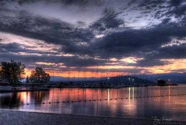 Lake Pend Oreille by Kusou