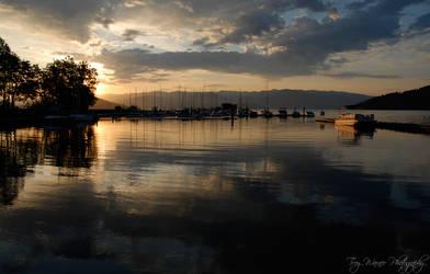 Lake Pend Oreille 2 by Kusou