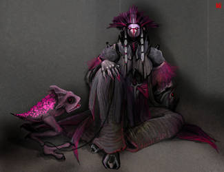 Gizka Sith Pet by dywa