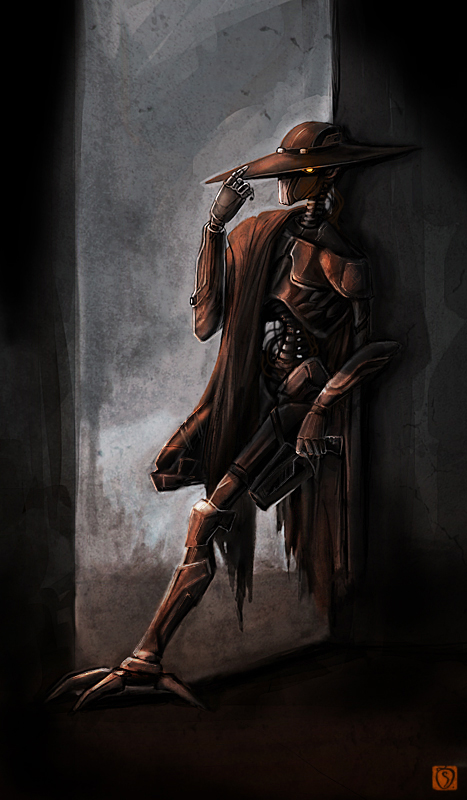 Smuggler droid I by dywa