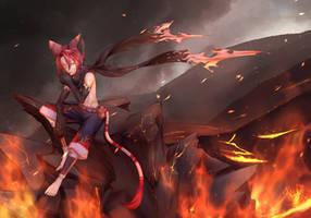 [Prize] Blaze by SkullButterfly