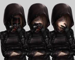 CD   Kuro's masks