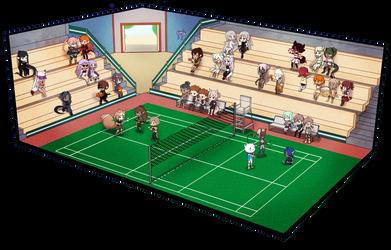 GoA   Elle Badminton Stadium