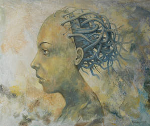 Woman by milalu1