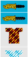Armored Stripes Knife