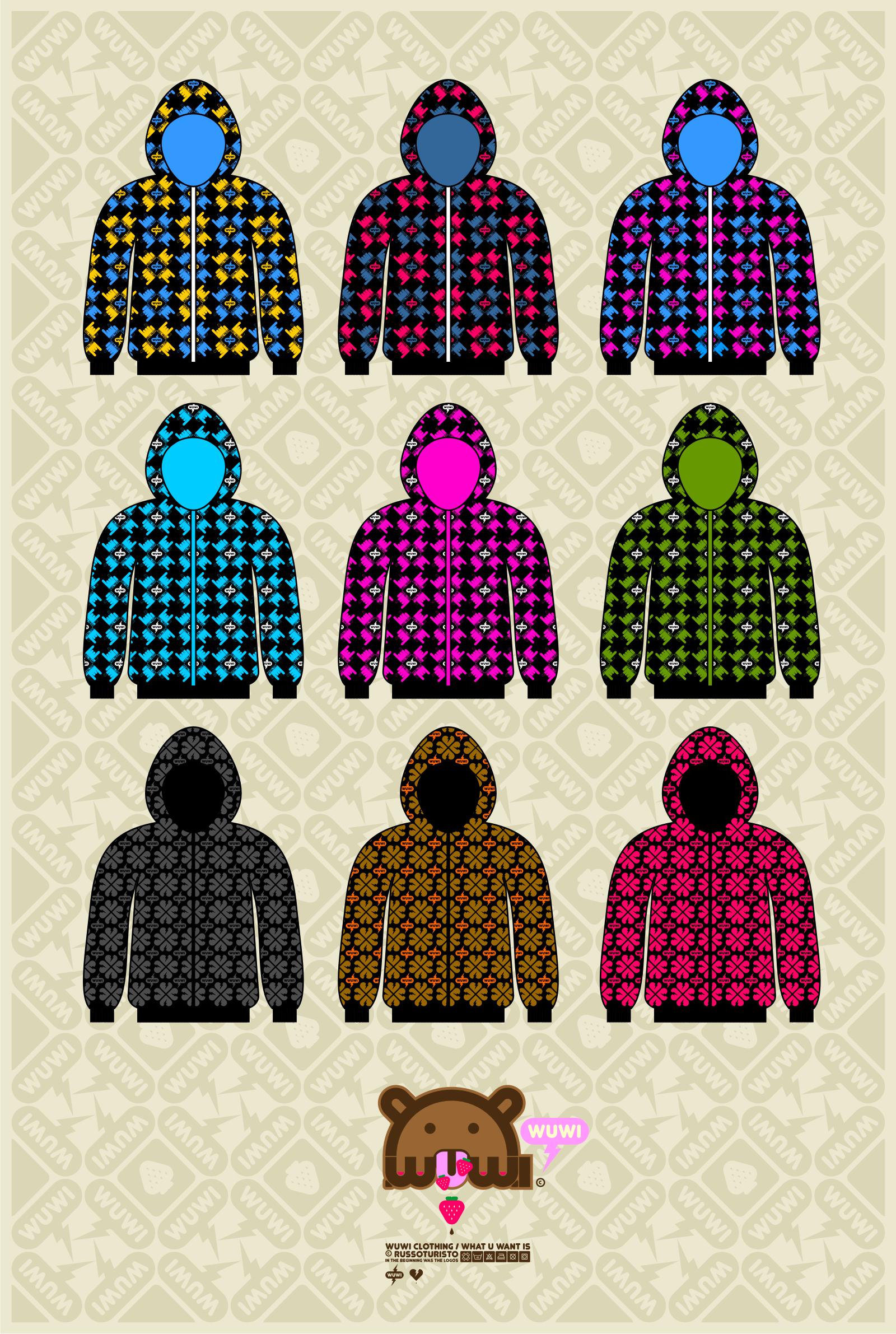 WUWI black hoodies by russoturisto