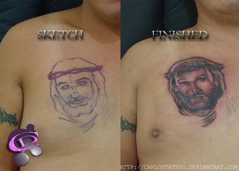 jesus christ tattoos. Jesus Christ tattoo by