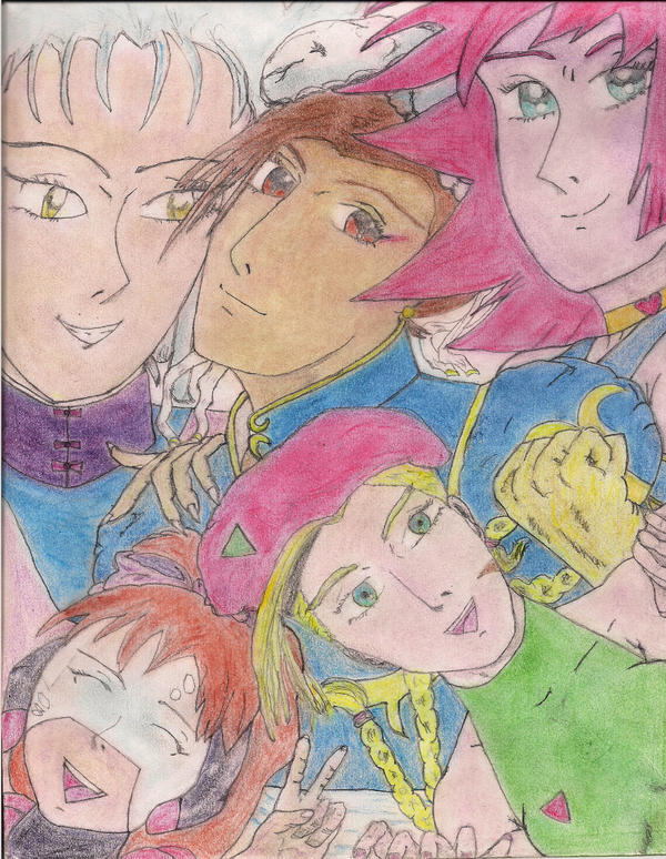 Cutey Honey and The women of Dept. (H) by Narked