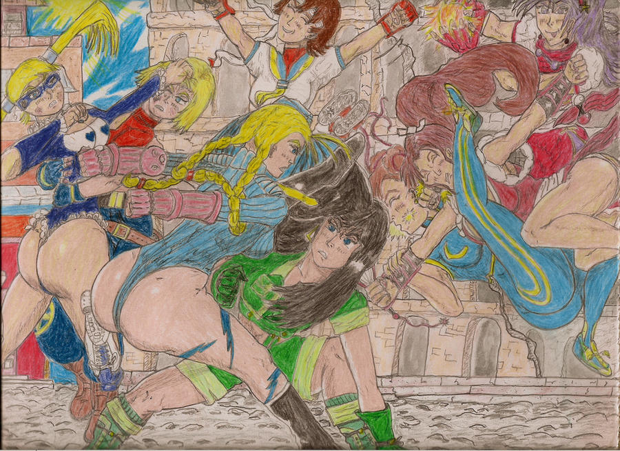 Streetfighter vs. KOF: When in Rome...   fin. by Narked