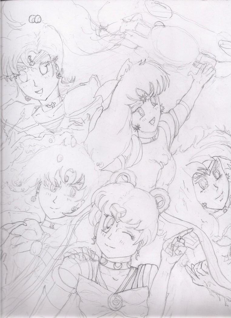 SailorMoon: REBORN!  skt.II by Narked
