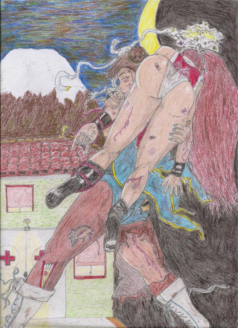 Chun-Li vs. Mai Shiranui: A new friendship dawning by Narked