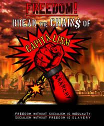Anarchy - Destroy Capitalism by Waldkrieger