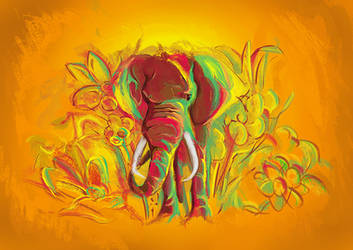 Elephant by en-tyrael