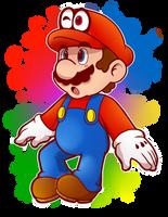 Mario style attempt by MarioCatBros123