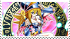 Dark Magician Girl Stamp by SpektrumSP