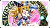Dark Magician Girl Stamp by SpektrumSP