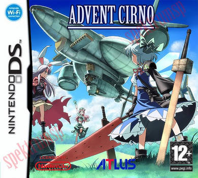 Advent Cirno for Nintendo DS by SpektrumSP